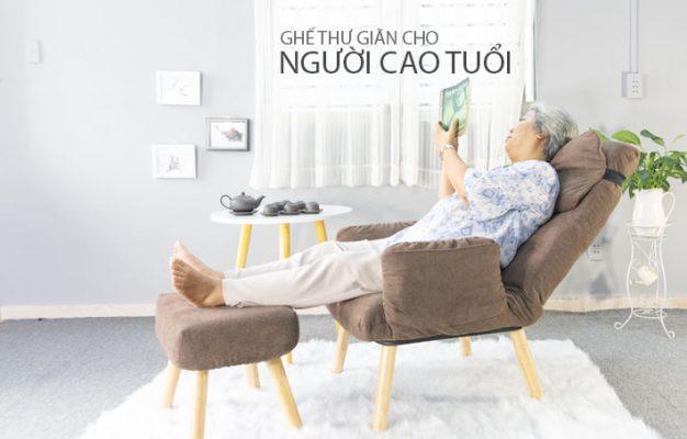 Ghế thư giãn cho người cao tuổi