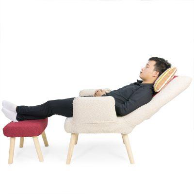 Với ghé thư giãn Teddy 360 - bạn có thể ngả lưng ra thư giãn cực kỳ thoải mái